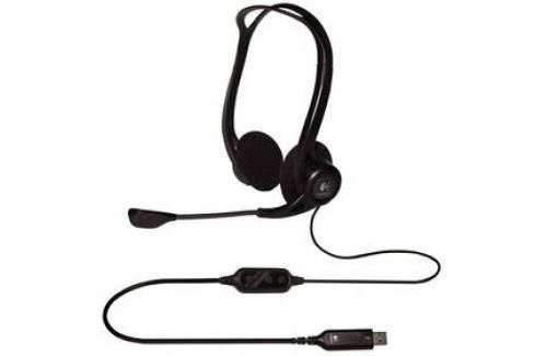 Logitech 960 USB (981-000100) černý Headsety