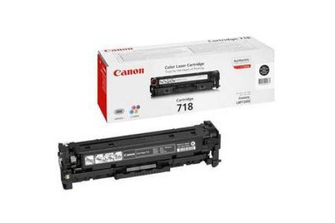 Canon CRG-718Bk, 3400 stran (2662B002) černý Tonery