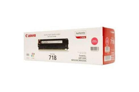 Canon CRG-718M, 2900 stran (2660B002) červený Tonery