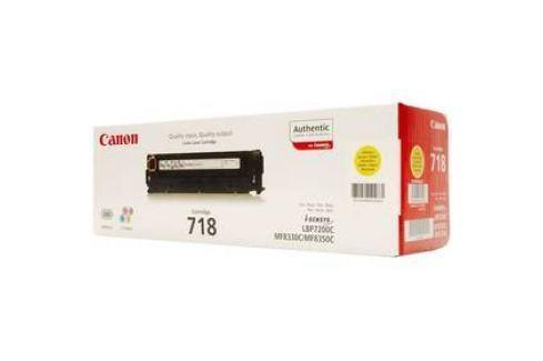 Canon CRG-718Y, 2900 stran (2659B002) žlutý Tonery