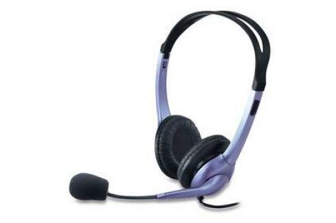 Genius HS-04S (31710025100) černý/stříbrný Headsety