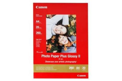 Canon PP201 A4, 260g, 20 listů (2311B019) bílý Papíry