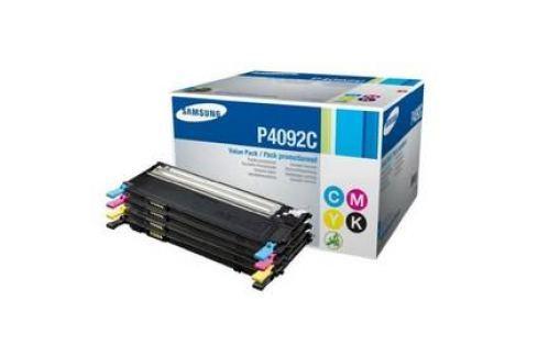 Samsung CLT-P4092C, 1K stran (CLT-P4092C/ELS) černý/červený/modrý/žlutý Tonery