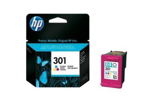 HP No. 301, 165 stran - originální (CH562EE) červená/modrá/žlutá Inkoustové náplně