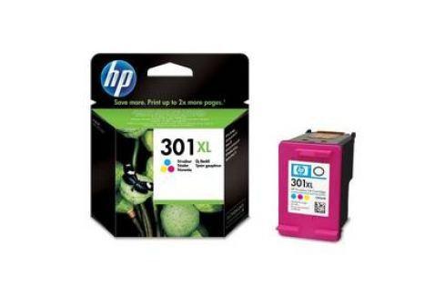 HP No. 301XL, 330 stran - originální (CH564EE) červená/modrá/žlutá Inkoustové náplně