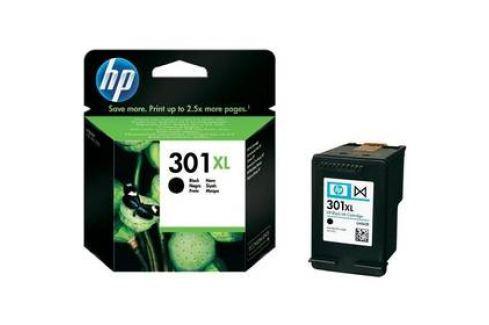 HP No. 301XL, 480 stran - originální (CH563EE) černá Inkoustové náplně