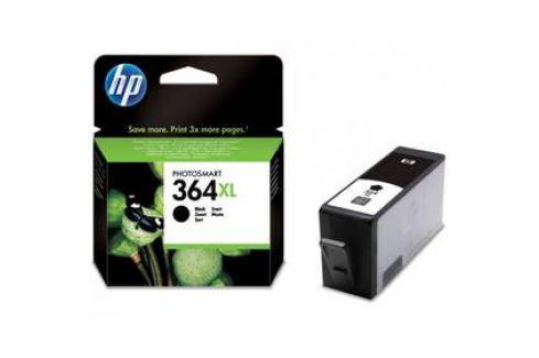 HP No. 364XL, 18ml, 550 stran - originální (CN684EE) černá Inkoustové náplně