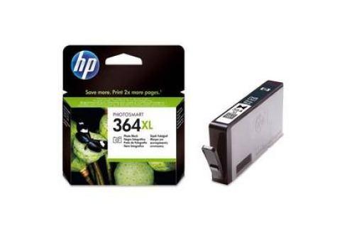 HP No. 364XL, 290 stran, foto černá, (CB322EE) Inkoustové náplně