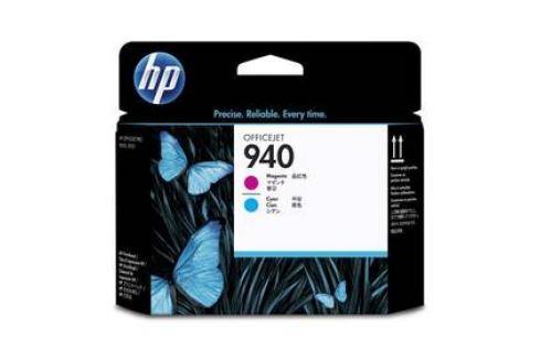 HP No. 940 - originální (C4901A) červená/modrá Inkoustové náplně