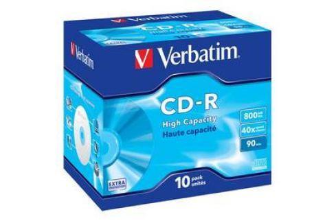 Verbatim Extra Protection CD-R DL 800MB/90min, 40x, jewel box, 10ks (43428) Záznamová média