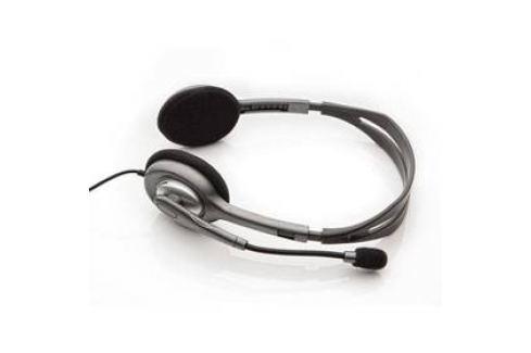 Logitech H110 (981-000271) černý Headsety