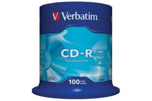 Verbatim Extra Protection CD-R DL 700MB/80min, 52x, 100-cake (43411) Záznamová média
