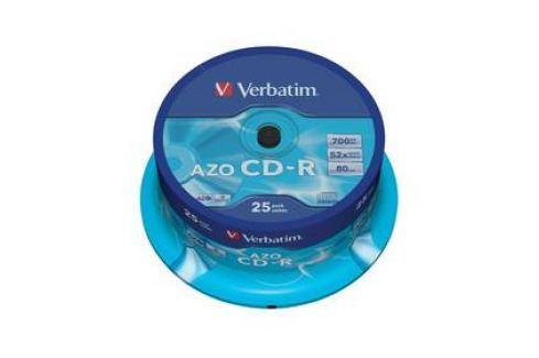 Verbatim Crystal CD-R DLP 700MB/80min. 48x, 25-cake (43352) Záznamová média