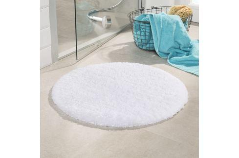 Koupelnová předložka Malmo bílá průměr 71 cm bílá Předložky