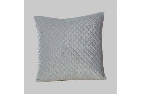 Povlak na polštářek Velvet šedý 40x40 cm polyester Povlaky na polštáře