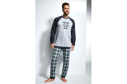 Pánské pyžamo CORNETTE New York  barevná Novinky