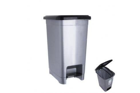 Odpadkový koš s pedálem SLIM 25 l ODPADKOVÉ KOŠE