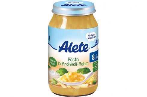 Alete Příkrm - Těstoviny s brokolicí a smetanou 220g Zeleninové příkrmy
