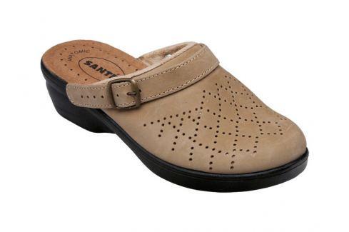 SANTÉ Zdravotní obuv dámská PO/5284 béžová vel. 38 Pantofle