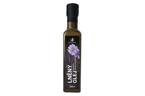 Allnature Lněný olej 250 ml Zdravá výživa