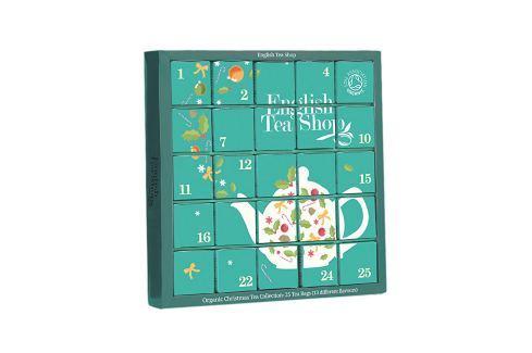 English Tea Shop Adventní kalendář modrý BIO 25 pyramidek Dárková balení čajů