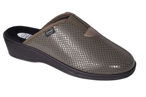 Scholl Zdravotní obuv ELSA dark taupe vel. 40 Dámská zdravotní obuv