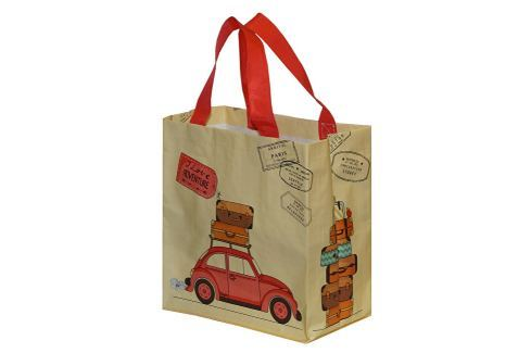 Kappus ECO taška GarBus 5 barevných motivů béžová Bezobalové nakupování