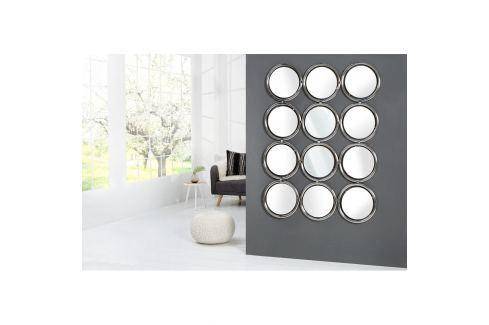 INV Zrcadlo LAUREL 130cm stříbrné Zrcadla
