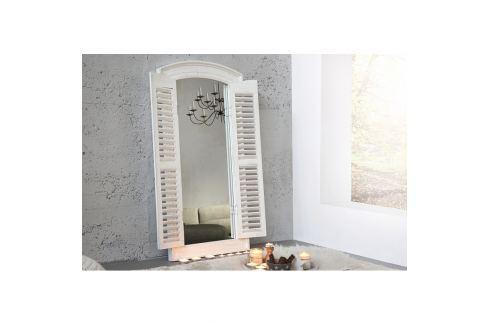 INV Zrcadlo PANIUM 120cm šedé/bílé Zrcadla