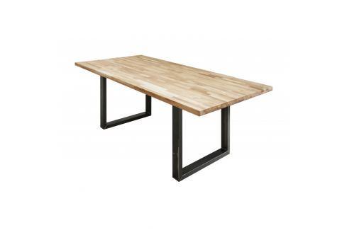 INV Jídelní stůl Industrial Slide 200cm dub Jídelní stoly