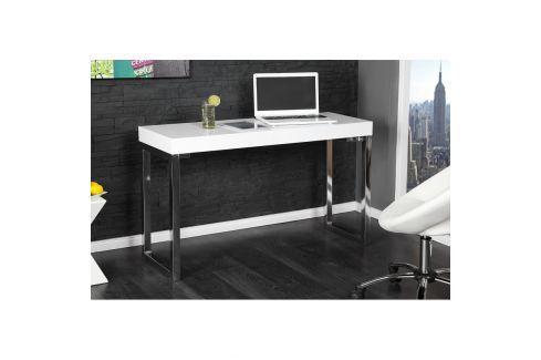 INV Stolek TEEN 120x40cm bílý Kancelářské stoly