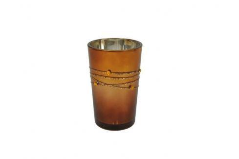 Svícen na čajovou svíčku sklo 8711252978482 Bytové doplňky