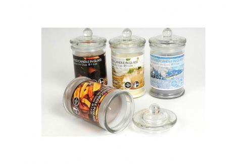 Svíčka parfemovaná ve skle 7,5cm 8711252465074 Bytové doplňky