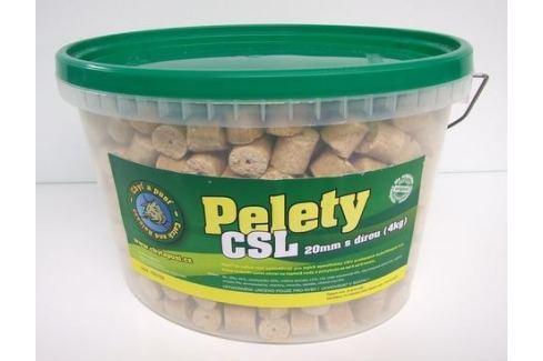 Chyť a pusť Pelety kukuřičné CSL s dírou KBELÍK 3,6kg Pelety