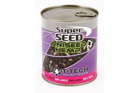 Bait-Tech Konopí Canned Superseed Aniseed Hemp 710g Partikly