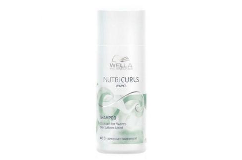 Wella Professionals Hydratační šampon pro vlnité a kudrnaté vlasy Nutricurls (Shampoo for Waves) 1000 ml Šampony