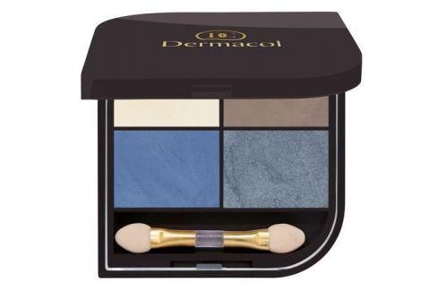 Dermacol Paletka očních stínů Quatro 06 8 g Paletky očních stínů