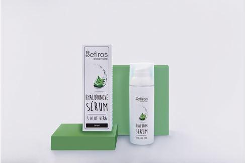 Sefiros Hyaluronové sérum na obličej s aloe vera  50 ml Séra