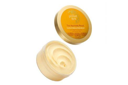 Avon Zklidňující tělové máslo s kurkumou a kokosovým mlékem The Ayurveda Ritual  200 ml Tělové krémy a mléka