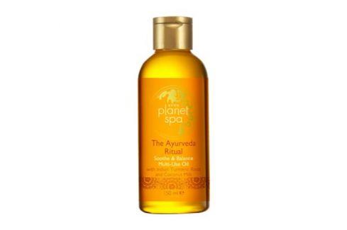 Avon Zklidňující olej na tělo a vlasy s kurkumou a kokosovým mlékem The Ayurveda Ritual  150 ml Tělové oleje