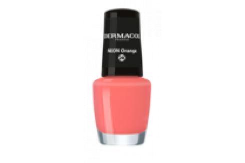 Dermacol Neonový lak na nehty 28 Neon Orange 5 ml Laky na nehty