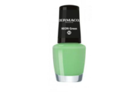 Dermacol Neonový lak na nehty 32 Neon Green 5 ml Laky na nehty