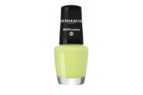 Dermacol Neonový lak na nehty 33 Neon Lemon 5 ml Laky na nehty