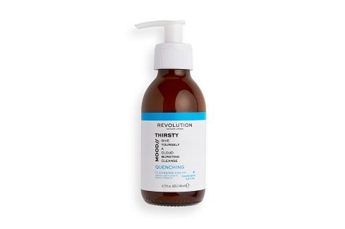 Revolution Jemný čisticí krém Skincare Mood Thirsty (Quenching Cleansing Cream)  140 ml Mléka, emulze, fluidy