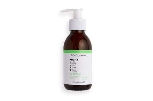 Revolution Pěnivý čisticí gel Skincare Mood Angry (Soothing Cleansing Gel)  140 ml Pěny