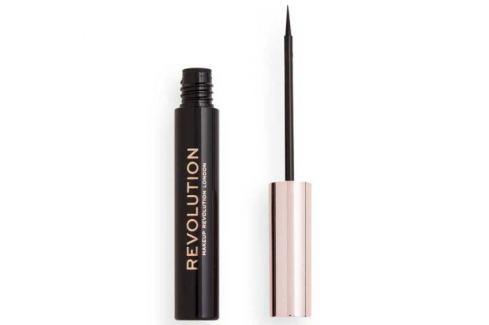 Revolution Oční linka Super Flick (Eyeliner) black 4,5 ml Linky a tužky na oči