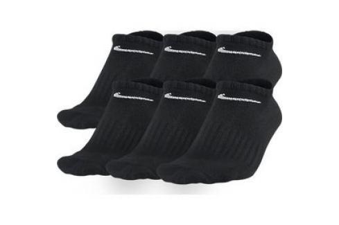 Pánské ponožky Nike 6PPK NON-CUSHION NO SH Pánské ponožky