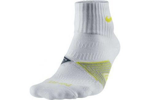 Pánské ponožky Nike Running Dri-FIT bílé Pánské ponožky