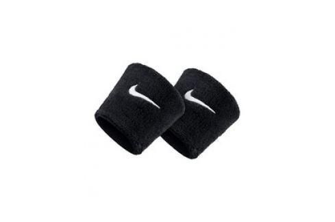 Černá potítka Nike SWOOSH WRISTBANDS Potítka