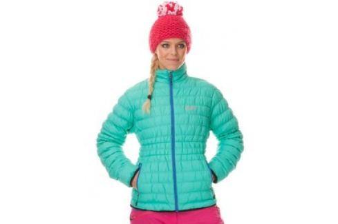 Dámská zimní bunda Nordblanc zelená Dámské bundy a kabáty